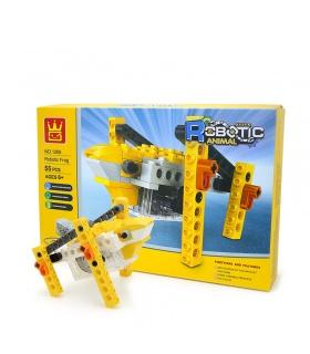 WANGEロボット動物の機械的カエル1205ブロック玩具セット