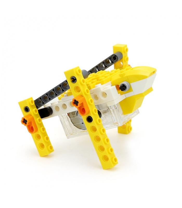 WANGE роботизированных животных механические лягушка 1205 строительные блоки игрушка комплект