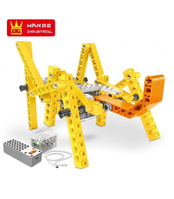 WANGE роботизированных животных 1201-1206 набор из 6 строительных блоков игрушка набор