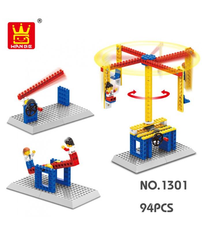 WANGE Maschinenbau Karussell 1301 Building Blocks Spielzeug-Set