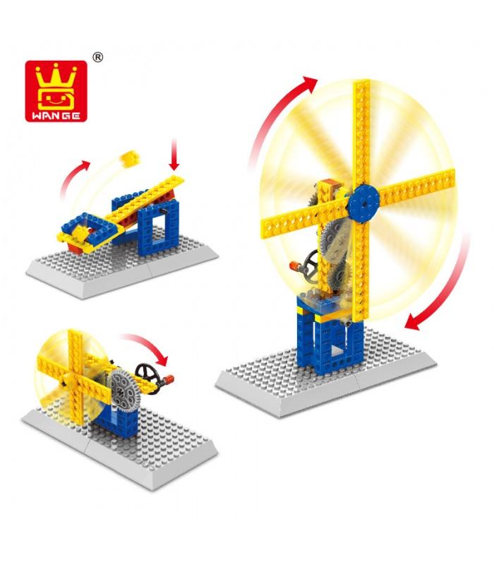 WANGE Maschinenbau Windmühle 1302 Building Blocks Spielzeug-Set