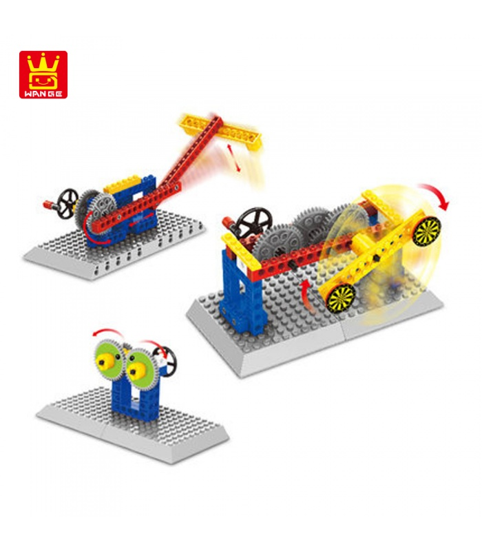 WANGE машиностроения машина съемки 1303 строительные блоки игрушка комплект