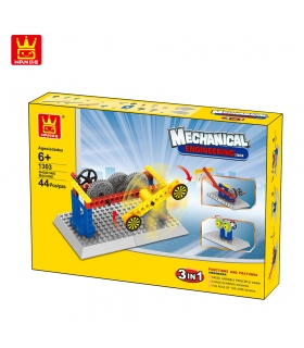 WANGE Mechanical Engineering Shooting Machine 1303 Building Blocks Toy Set