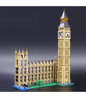 Custom Buildings Big Ben Building Bricks Toy Set