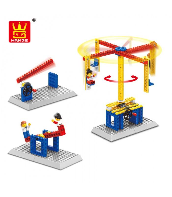 WANGE Maschinenbau 1301-1304 4-er Set Bauen Blöcke Spielzeug-Set