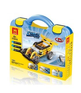 WANGE Power Machinery Speed Car 1401 Bausteine Spielzeugset