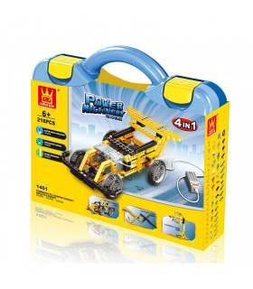WANGE Power Machinery Speed Car 1401 Building Blocks Toy Set