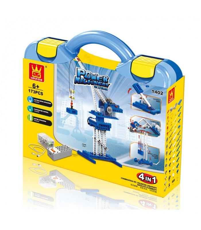 WANGE Macht-Maschinerie-Kran 1402 Building Blocks Spielzeug-Set