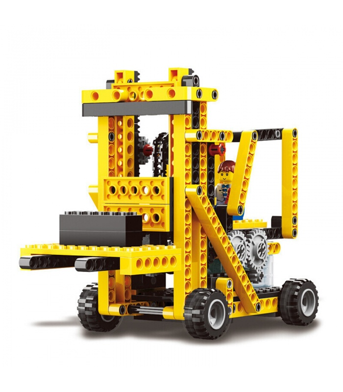 WANGE Power Machinery Forklift 1403 Building Blocks Toy Set