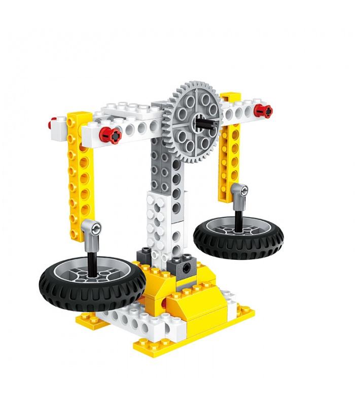 WANGE Power Machinery Dominos Machine 1405 Building Blocks Toy Set
