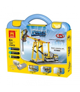 WANGE電機ビームポンプユニット1406ビルブロック玩具セット