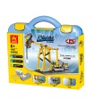 WANGE Power Machinery Beam Pumping Unit 1406 Building Blocks Educational Learning Toy Set