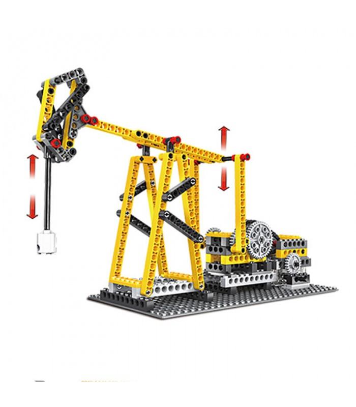 WANGE Силовые машины агрегата Луча 1406 строительные блоки комплект игрушки