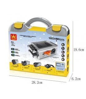 WANGE Power Machinery Dampfbatteriemotoren Kit 1501 Bausteine Spielzeugset