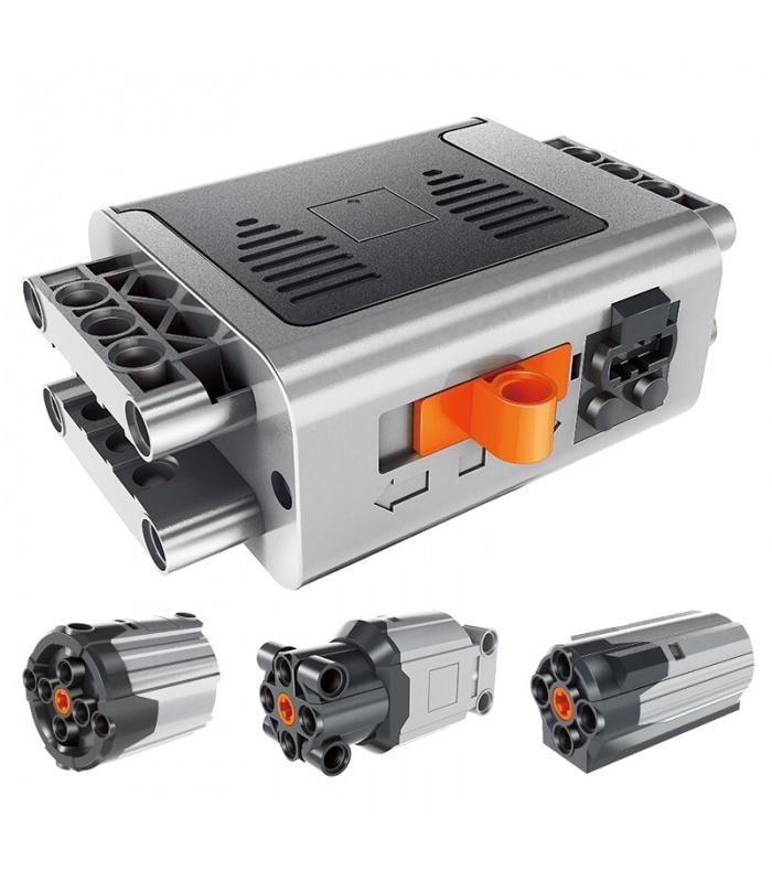 WANGE Power Machinery Steam Battery Motors Kit 1501 Building Blocks Toy Set
