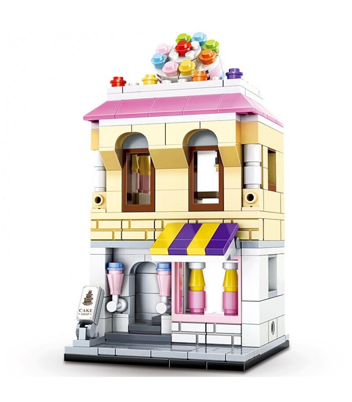 WANGE Street-View-Konditorei 2311 Building Blocks Spielzeug-Set