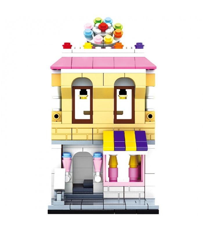 WANGE Street View pâtisserie 2311 Blocs de Construction Jouets Jeu