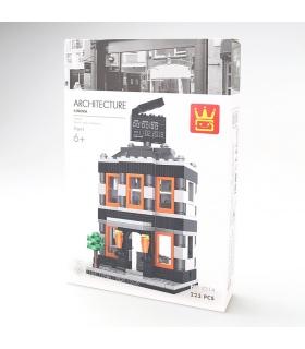 WANGE Street-View-Kino 2314 Building Blocks Spielzeug-Set
