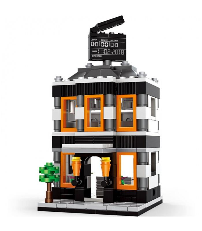 WANGE Street View Cinéma 2314 Blocs de Construction Jouets Jeu