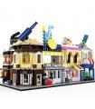 Улица WANGE посмотреть мини-набор архитектура из 5 2310-2314 строительные блоки игрушка комплект