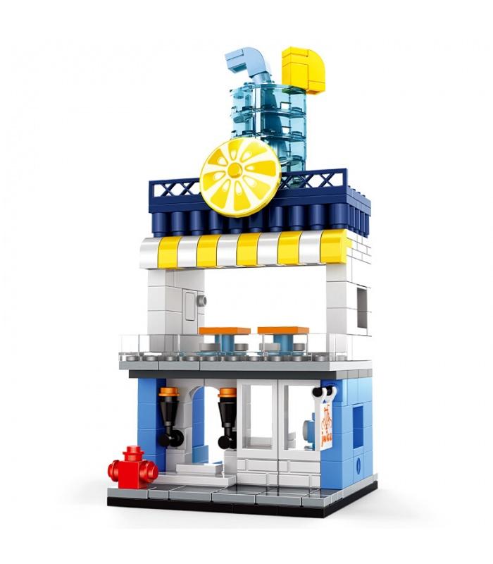 WANGE Street View Mini Architecture Set of 5 2310-2314 Building Blocks Toy Set