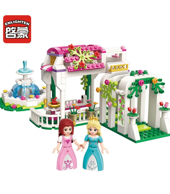 AUFKLÄREN 2602 Rose Korridor Building Blocks Spielzeug-Set