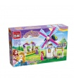 Просветите 2604 дом Радуга ветряная мельница блоки игрушка комплект