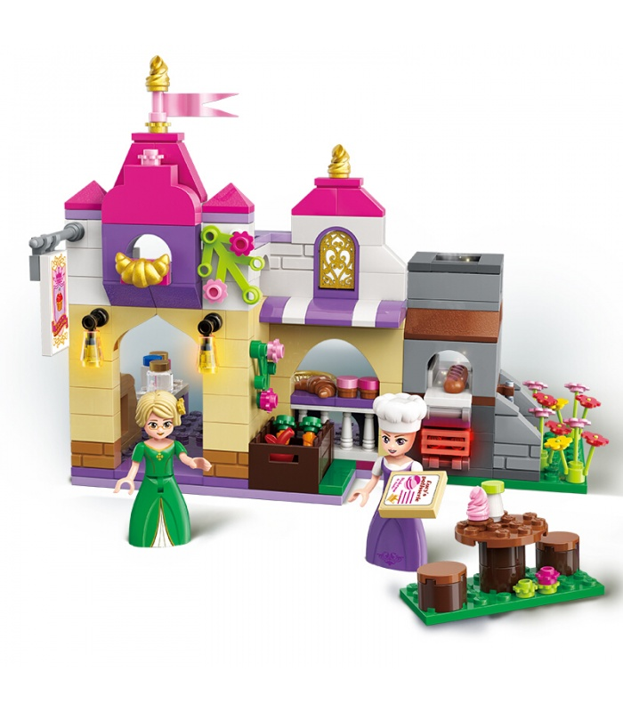 AUFKLÄREN 2604 Rainbow Windmill Building Blocks Spielzeug-Set