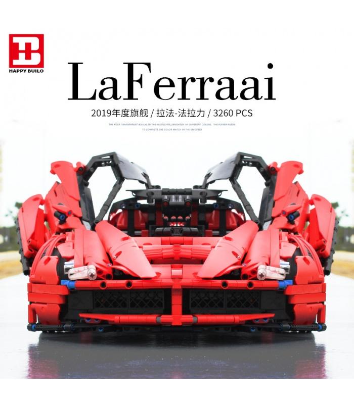 カスタムLaFerrari F150MOC建材用煉瓦の玩具セット3260個