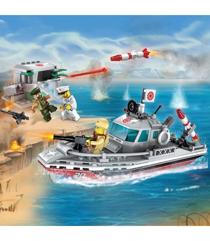 ENLIGHTEN 1720 Coastline Conflict Building Blocks Toy Set