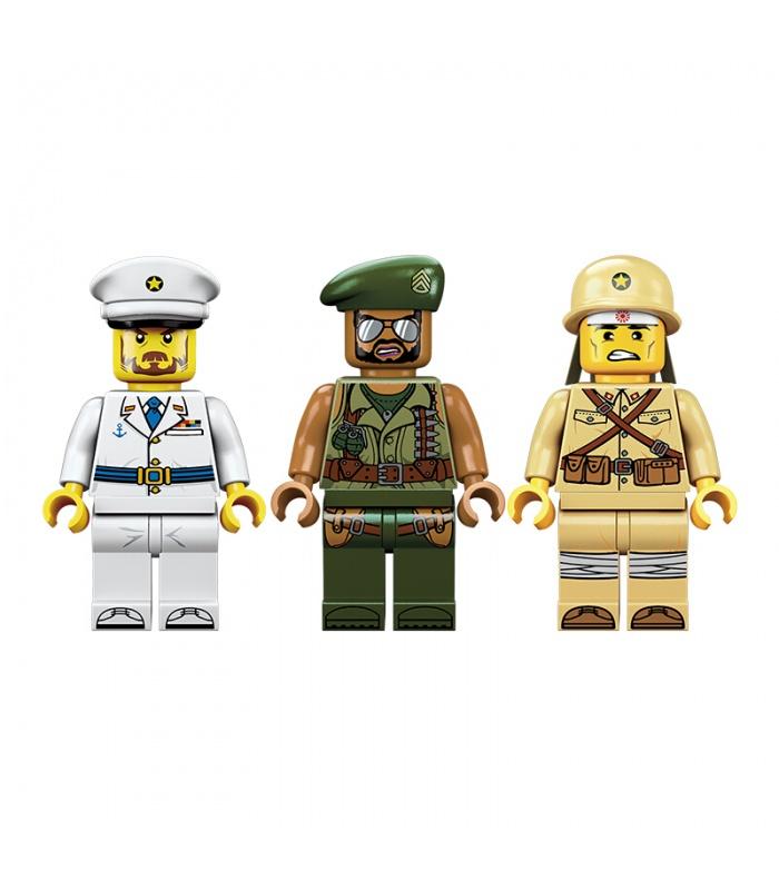 啓発1720海岸線紛争ビルブロック玩具セット
