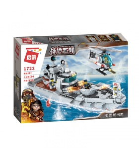 ENLIGHTEN 1722 Go for It Destroyer Building Blocks Toy Set