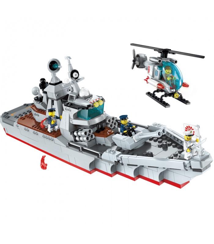 啓発1722ではなく、駆逐艦ブロック玩具セット