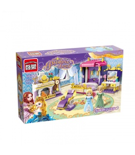 ENLIGHTEN 2601 Leah ' s Schlafgemach Building Blocks Spielzeug-Set