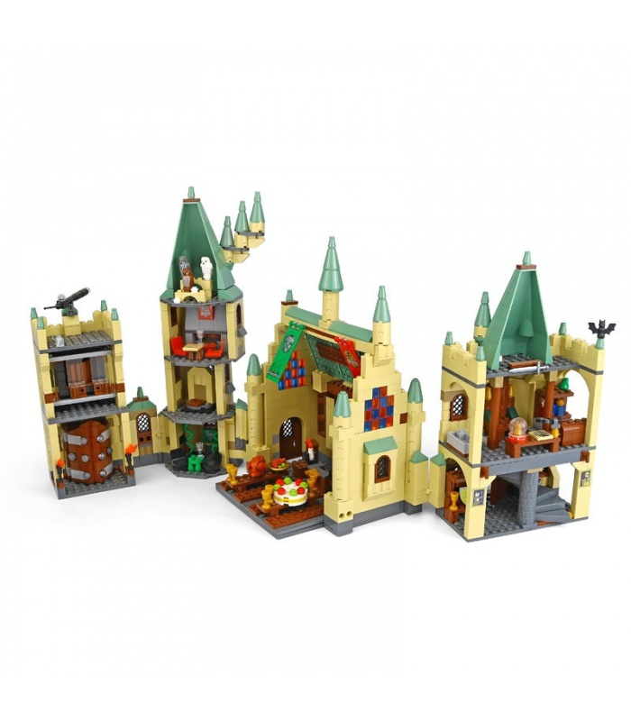 Custom The Hogwarts Castle Compatible Building Bricks Toy Set 1340 Pieces