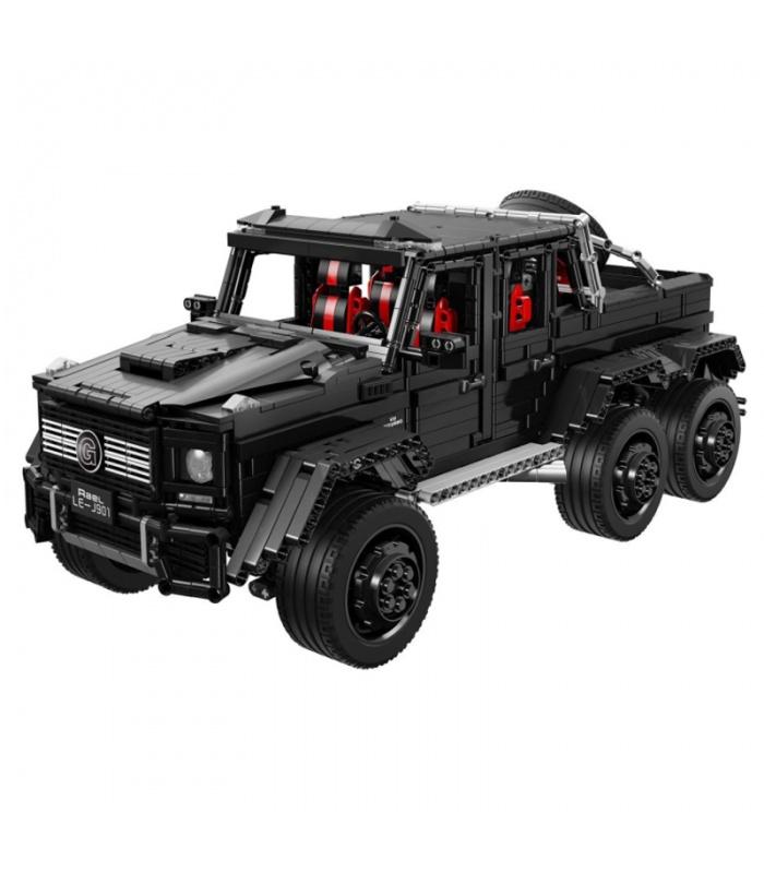 カスタムテクニックのJ901シベリアAMG G63Off-Road車建材用煉瓦の玩具セット3300枚