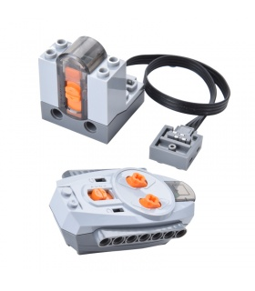 Power Functions IR Remote Control & IR Receiver Set Compatible With Model 8885 8884