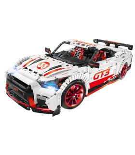 カスタムテクニックのNissan GT-R GT3レンガビル玩具セット3408個