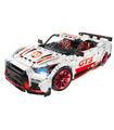 Benutzerdefinierte Technic Nissan GT-R GT3 Bausteine Spielzeug-Set 3408 Stück