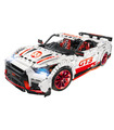 Custom Technology Nissan GT-R GT3 Building Bricks Toy Set 3408 Pieces