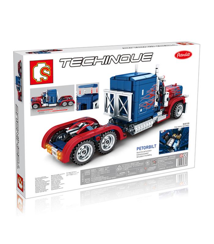 Sembo 701803 Peterbilt Optimus Prime Truck Building Blocks Toy Set