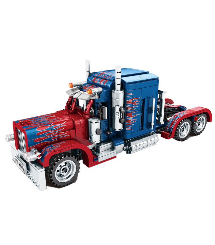 Sembo 701803 Peterbilt Optimus Prime Truck Bausteine Spielzeugset