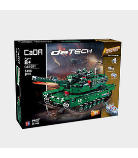Double Eagle CaDA C61001 M1A2 Abrams Tank Building Blocks Toy Set