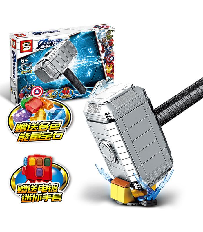 personnalis avengers 4 mjolnir marteau de thor blocs de construction jouets jeu 324 pi ces