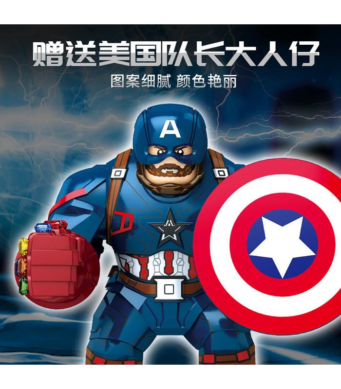 Пользовательские 4 Мстители Мьельнир Тор Молоток Строительные Блоки Игрушка Набор 324 Штук