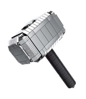Personalizado Mjolnir De Thor Martillo Bloques De Construcción De Juguete Set 324 Piezas