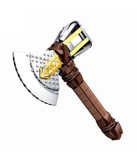 Benutzerdefinierte Thor Axe Stormbreaker Axe Bausteine Spielzeug Set 410 Stück