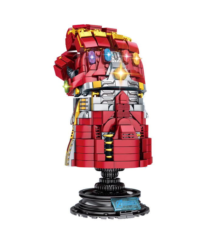 Пользовательские Бесконечность Gauntlet Блоков Игрушка Набор 629 Штук