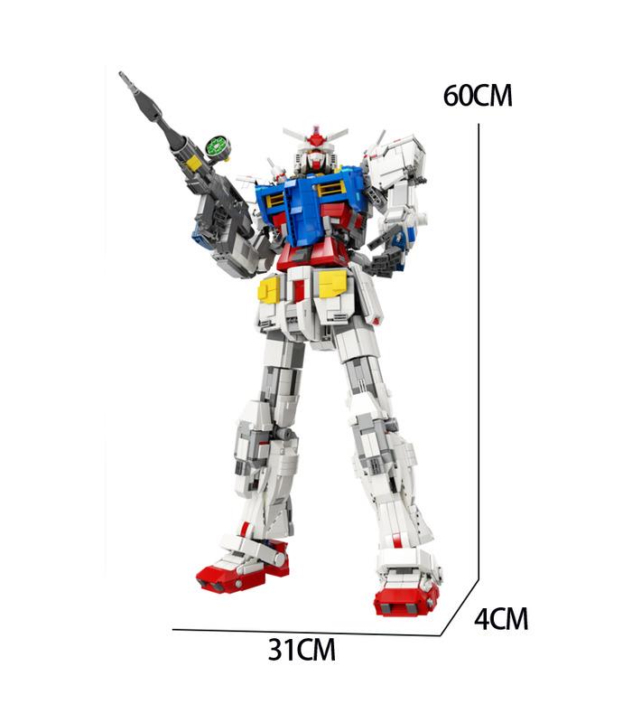 カスタムスーパー18kガンダム1:60RX78-2建物の煉瓦玩具セット3500枚