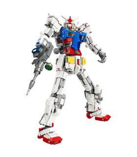 Benutzerdefinierte Super 18k Gundam 1:60 RX78-2 Bausteine Spielzeug-Set 3500 Stück